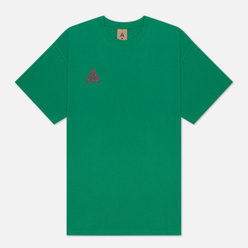 Мужская футболка Nike ACG NRG Logo Lucid Green/Sport Fuchsia