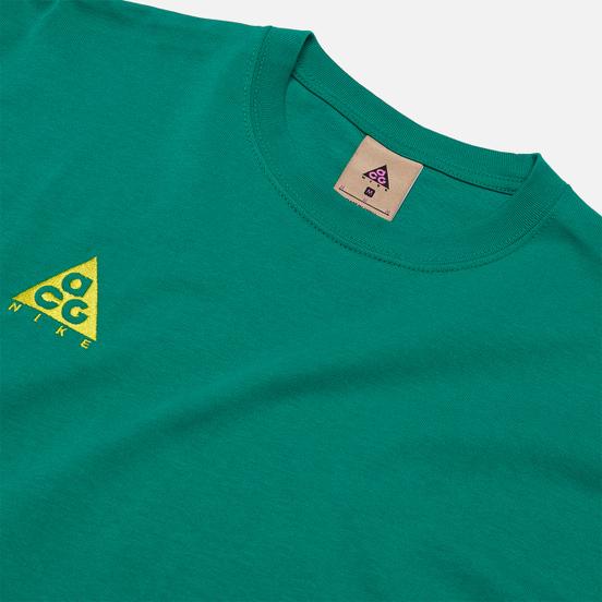 Мужская футболка Nike ACG NRG Logo Neptune Green/Opti Yellow