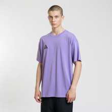 Мужская футболка Nike ACG NRG Logo Space Purple/Black фото- 1