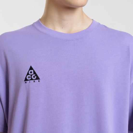 Мужская футболка Nike ACG NRG Logo Space Purple/Black