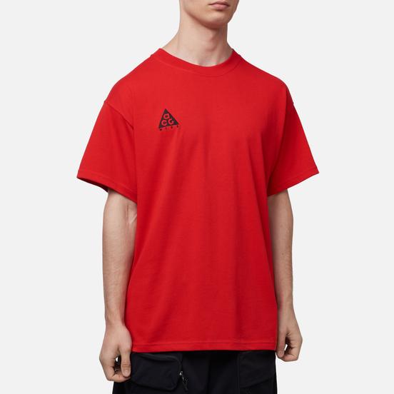 Мужская футболка Nike ACG NRG Logo University Red/Black