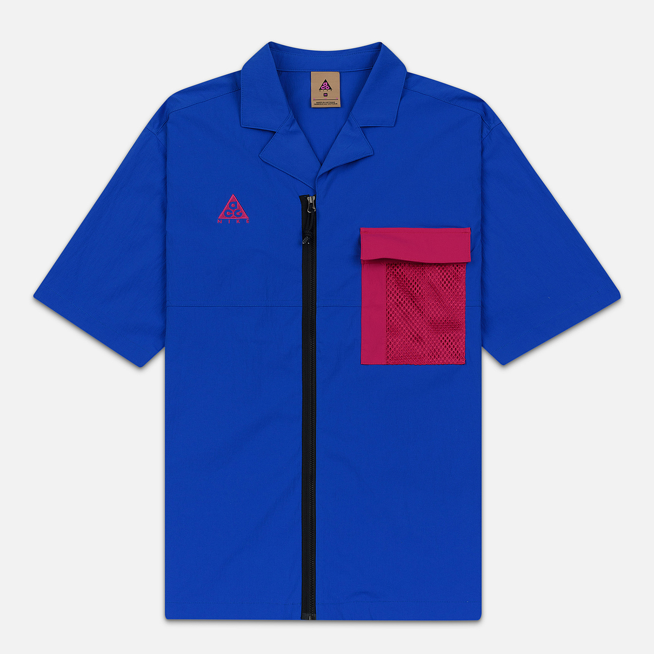 Мужская рубашка Nike ACG NRG SS Game Royal/Sport Fuchsia