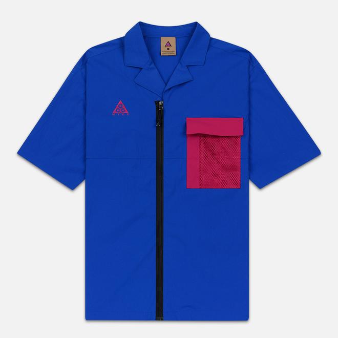 Мужская рубашка Nike ACG NRG SS Game Royal/Sport Fuchsia