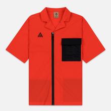 Мужская рубашка Nike ACG NRG SS Habanero Red/Black фото- 0