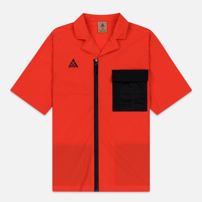 Мужская рубашка Nike ACG NRG SS Habanero Red/Black
