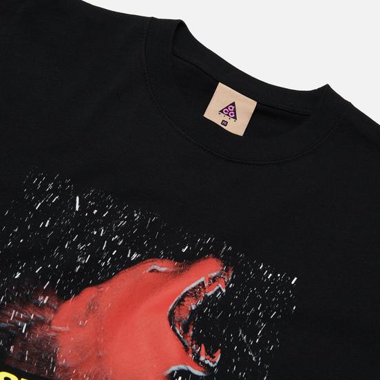 Мужская футболка Nike ACG NRG Wolf Black/Team Orange