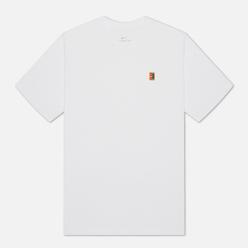 Мужская футболка Nike Court Embroidered White
