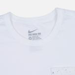 Мужская футболка Nike Court Wimb Pocket White фото- 1