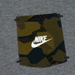 Мужская футболка Nike Drop Hem Pocket Dark Grey фото- 2