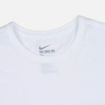 Мужская футболка Nike Drop Hem Pocket White фото- 1