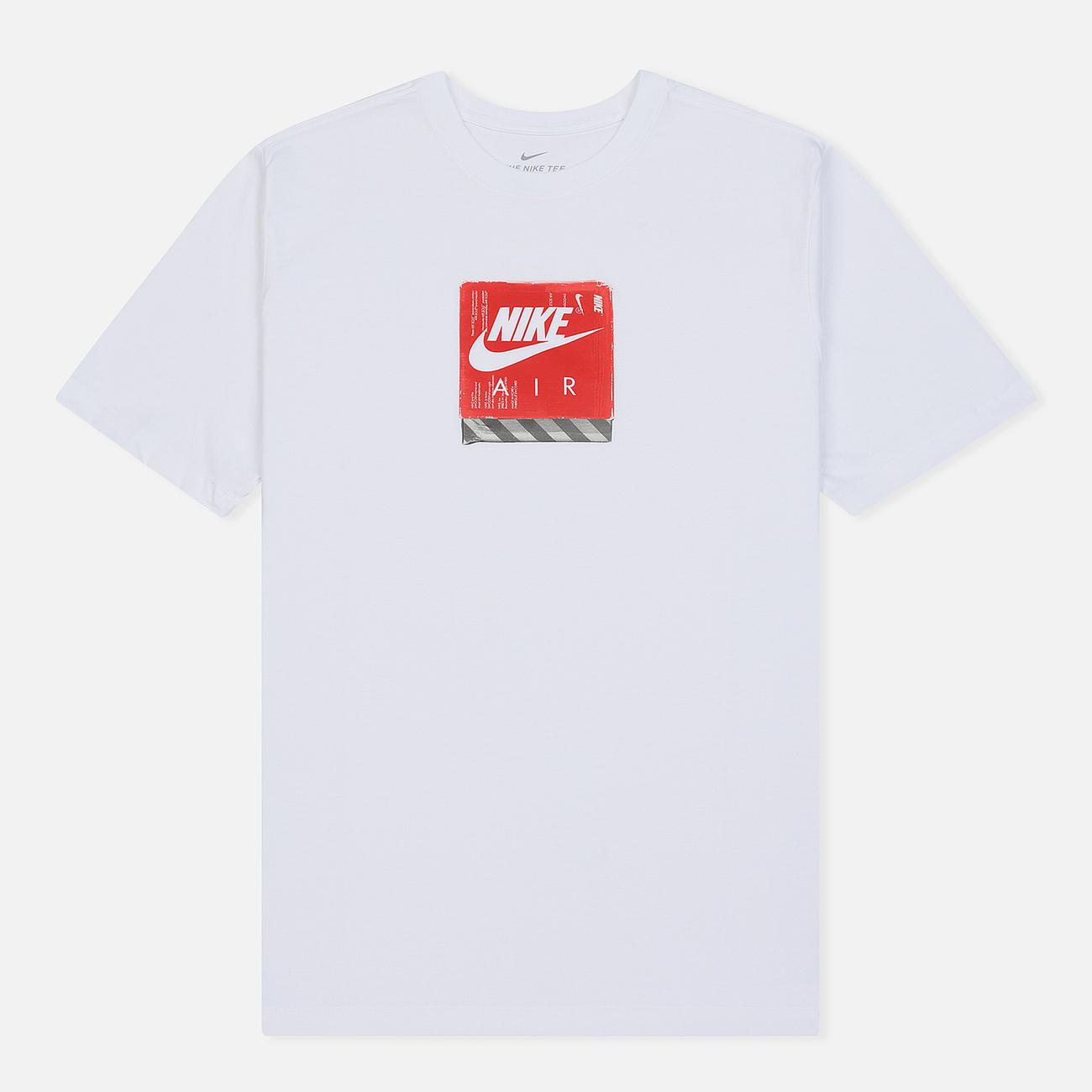 Мужская футболка Nike Footwear Pack 4 White