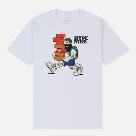 Мужская футболка Nike Hype Nike 1 White