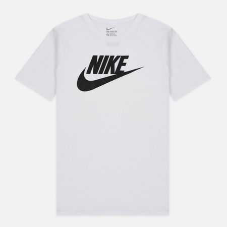 Nike Icon Futura Men's T-Shirt White