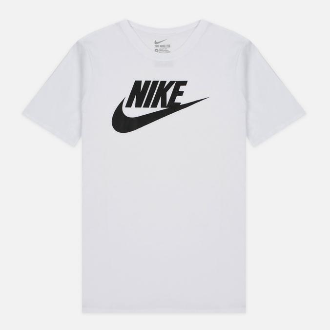Мужская футболка Nike Icon Futura White
