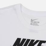 Мужская футболка Nike Icon Futura White фото- 1