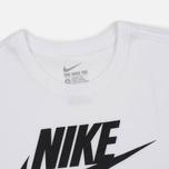 Мужская футболка Nike Icon Futura White фото- 2