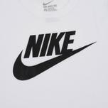 Мужская футболка Nike Icon Futura White фото- 3