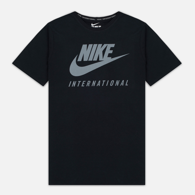 Мужская футболка Nike International Black/Cool Grey