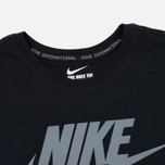 Мужская футболка Nike International Black/Cool Grey фото- 2