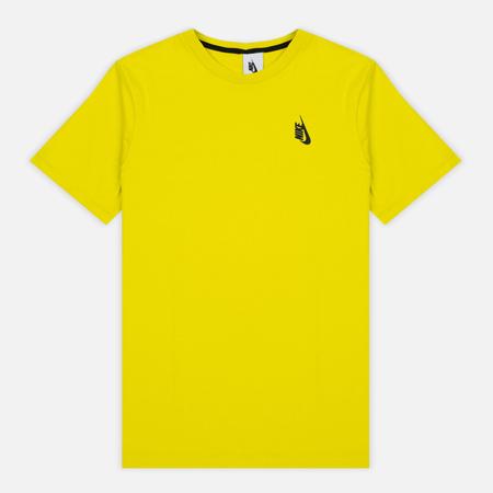 Мужская футболка Nike Essentials Cotton Crew Electrolime/Black