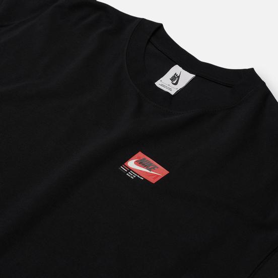 Мужская футболка Nike NRG ISPA Black/University Red