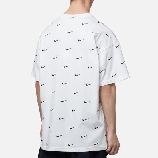 Мужская футболка Nike NRG Swoosh Logo White