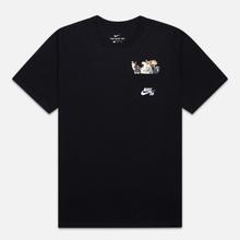 Мужская футболка Nike SB Dog Black/White фото- 0