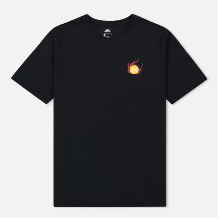 Мужская футболка Nike SB Dragon Black/White