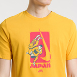 Мужская футболка Nike SB Dri-Fit Karate Yellow Ochre/Rush Pink фото- 3