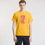 Мужская футболка Nike SB Dri-Fit Karate Yellow Ochre/Rush Pink фото- 1