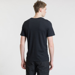 Мужская футболка Nike SB Dri-Fit Logo Black/White фото- 2