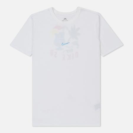 Мужская футболка Nike SB Dry DFC Tropical White