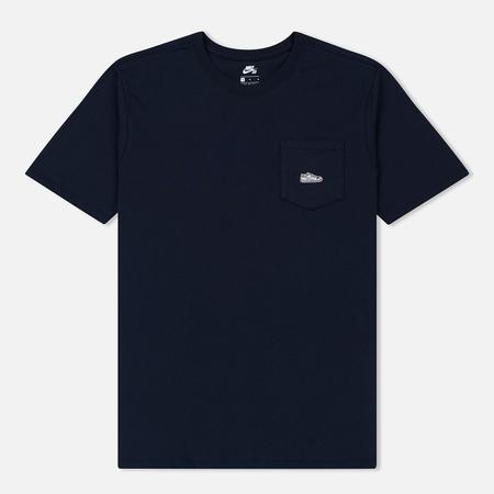 Мужская футболка Nike SB Dunk Patch Obsidian