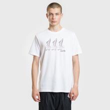 Мужская футболка Nike SB Dunks White фото- 1