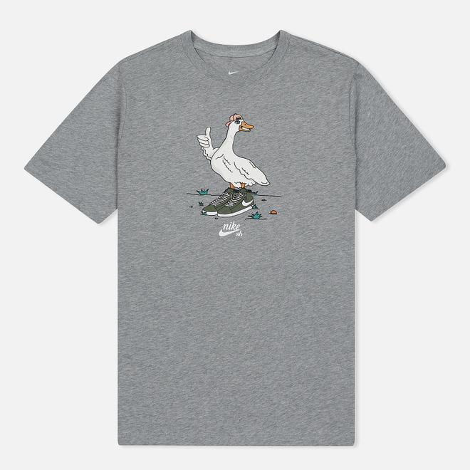 Мужская футболка Nike SB Goose Dark Grey Heather