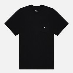 Мужская футболка Nike SB ISO Black/White