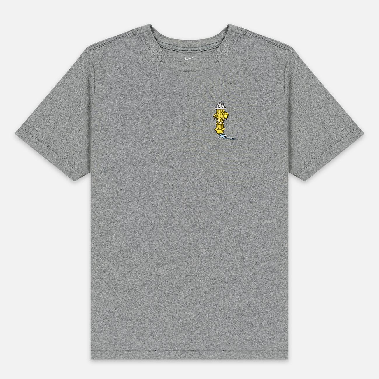Мужская футболка Nike SB Lincon & 17th Dark Grey Heather
