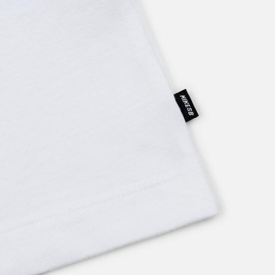 Мужская футболка Nike SB Lincon & 17th White