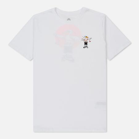 Мужская футболка Nike SB Pelican White