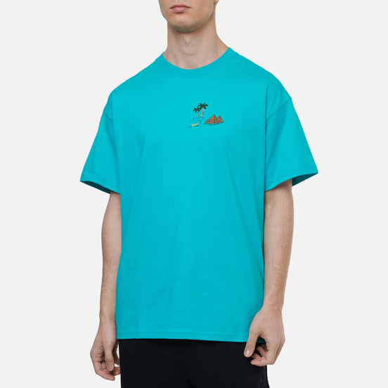 Мужская футболка Nike SB Sphynx Oracle Aqua