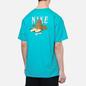 Мужская футболка Nike SB Sphynx Oracle Aqua фото - 4