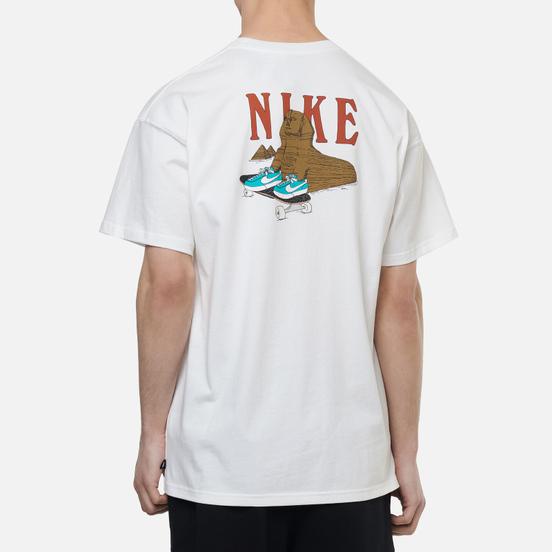 Мужская футболка Nike SB Sphynx White