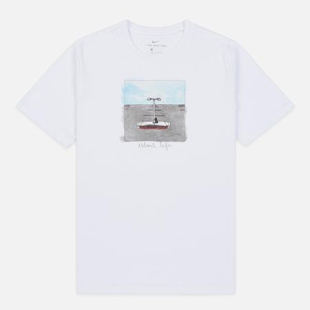 Мужская футболка Nike SB Stefan Janoski White