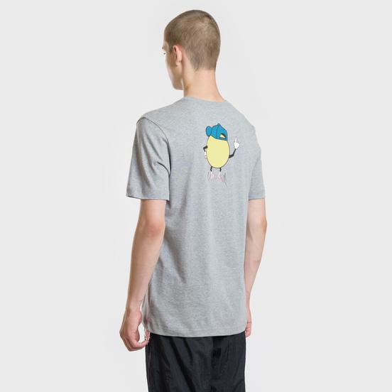 Мужская футболка Nike SB Swoosh Face Dark Grey Heather