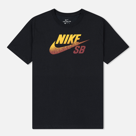 Мужская футболка Nike SB x NBA Dri-Fit Logo Black/Team Red/University Gold