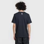 Мужская футболка Nike SB x NBA Dri-Fit Logo Black/Team Red/University Gold фото- 3