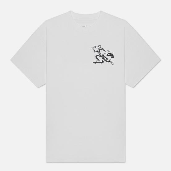 Мужская футболка Nike SB x Steve Harrington Printed White/Black