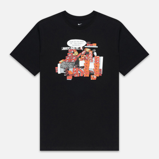 Мужская футболка Nike Sneaker Culture Black