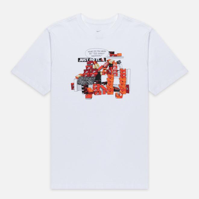 Мужская футболка Nike Sneaker Culture White