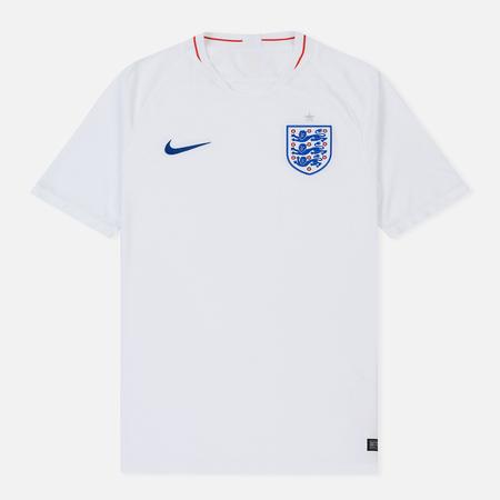 Мужская футболка Nike Soccer Jersey 2018 England Stadium Home White/Sport Royal